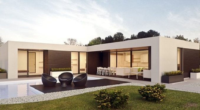 ii ii haus streichen mit dieser fassadenfarbe liegst du voll trend. Black Bedroom Furniture Sets. Home Design Ideas