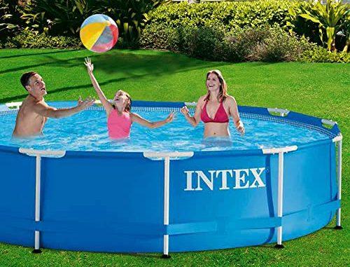 intex-metal-frame-pool-aufstellen-garten