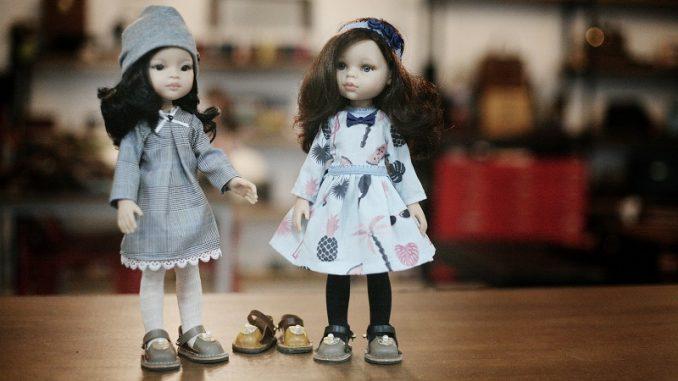 Puppenkleider nähen - Vorlagen, Schnittmuster