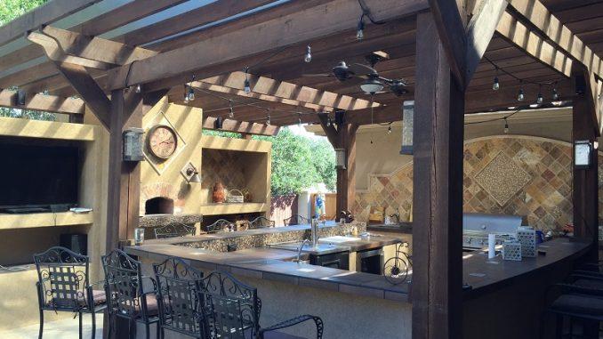 Outdoor-Küche - günstig selber machen